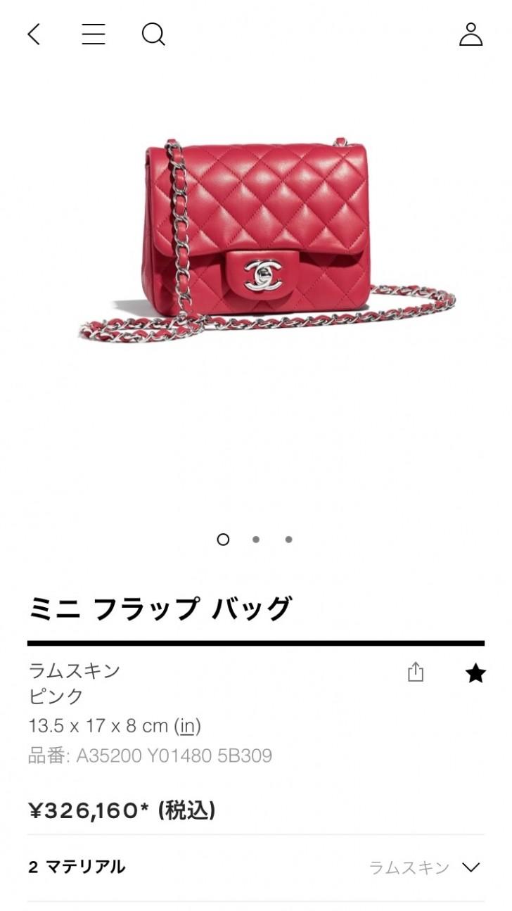 b58816ad7cd2 購入レポ】ついについにCHANELのバッグを購入!数あるシャネルバッグの中 ...